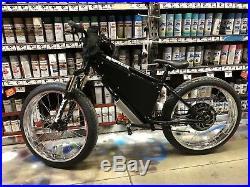10,000watt RAPTOR Fat Ebike. 84v 20ah, QS V3 Motor, Display App Electric Bike