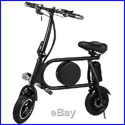 10 Folding Electric Bike Bicycle 400W E-Bike 36v Battery Folding Li-ion 35km/h
