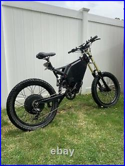 100+ Miles Per Charge! Stealth Bomber Electric 48V3000W ebike bicycle 35mph Pas