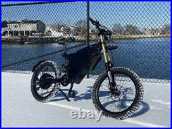 100+ Miles Per Charge! Stealth Bomber Electric 48V3000W ebike bicycle 40mph Pas