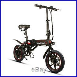 14 Samebike Aluminum Alloy Folding Electric Bike 36V 250W e-Bike Lithium Batter