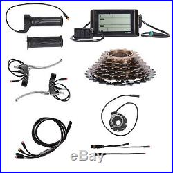 1500W 48V with LCD Rear Wheel Electric Bicycle Motor Conversion Kit E Bike Cycling