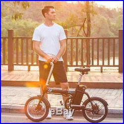 16 Electric Bike Commuter Folding City EBike Cycling 36V 250W LI-ION Bicycle