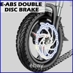 20 48V 12.5 AH 500W Folding Electric Fat Tire Bike Beach Bicycle City Ebike USA