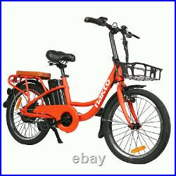 20 Electric Bike for Adults 250W Ebike with 36V10AH Lithium Battery
