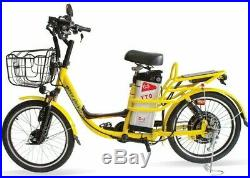 20 Heavy Duty Electric Bicycle Service Delivery E-Bike 350W 30Ah 160 Mile Range