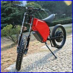 2019 New Fast Powerful High Speed Eagle 72V 10000w ebike Bomber Electric Bike