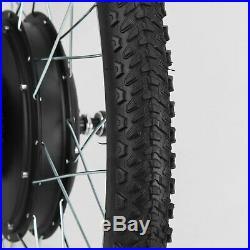 24Electric Bicycle Motor Conversion Kit Front Wheel E Bike Cycling Hub 48V1000W