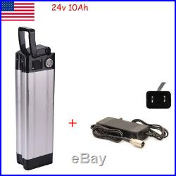 24V 10AH Li-ion Lithium Battery for 250W Electric Bicycles E-Bike Charger Kit