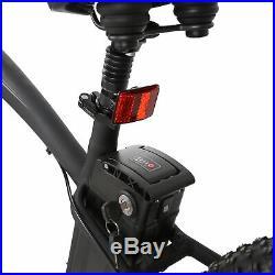 26 1000W 48V Fat Tire Mountain Beach Electric Bike Bicycle EBike E-Bike LCD