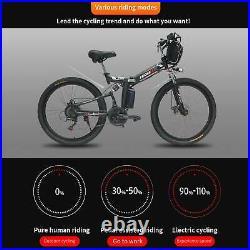 26 1000W 48V Mountain Electric Bike Bicycle EBike E-Bike Removable battery US