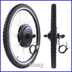26 1000W Electric Bicycle Rear Wheel E-Bike Conversion Kit Hub Motor Cycling