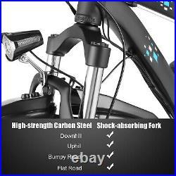 26 1000With500W 48V Fat Tire Mountain Beach Electric Bike Bicycle EBike E-Bike