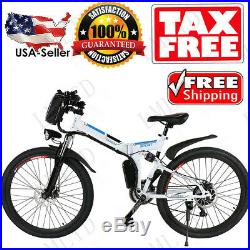 26 350W 250W Folding Electric Bike City Mountain Cycling EBike 36V Bicycle