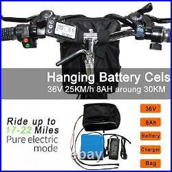 26 36V Bicycle Folding Electric CLIENSY 350W City Mountain Bike Cycling EBike