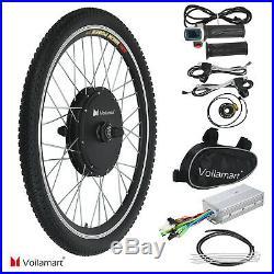 26 48V 1000W Ebike Front Wheel Electric Bicycle Bike Motor Conversion Kit Hub
