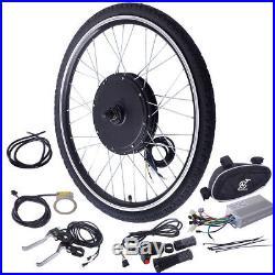 26 48V 1000W Ebike Front Wheel Electric Bicycle Motor Conversion Kit Motor Hub