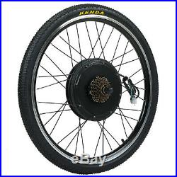 26 48V 1500W Rear Wheel E-Bike Speed Electric Bicycle Bike Motor Conversion Kit
