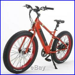 26 500W Electric Bicycle Bike Beach Mountain Ebike Lithium Battery with Fat Tire