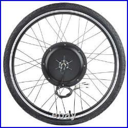 26 E-Bike 48V 1500W Rear Wheel Electric Bicycle Hub Motor Rim Conversion Kit