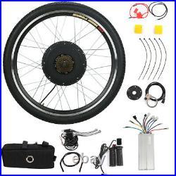 26 Electric Bicycle Front/Rear Wheel 48V 1000W Ebike Motor Conversion Kit Bike