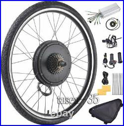 26 Electric Bicycle Rear Wheel 48V 1000With1500W Ebike Hub Motor Conversion Kit