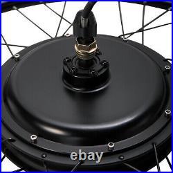 26 Electric Bicycle Rear Wheel 48V 1500W Ebike Hub Motor Conversion Kit