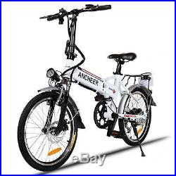 26'' Electric Mountain Bike Bicycle 21-Speed With 36V 250W Lithium Battery E bike