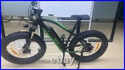 26 Fat Tire Electric Bicycle 500W 48V e-Bike Mountain Beach City eBike US