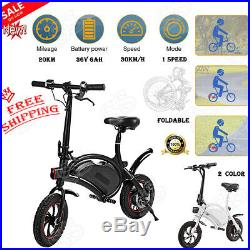 26 Foldable Electric Mountain Bicycles with 36V Lithium Battery Powerful E Bike