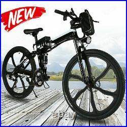 26 Folding Electric Bike City Commuter EBike Mountain Bicycle 7 Speed E-Bike /
