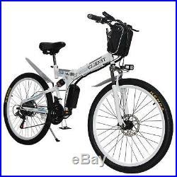 26 Folding Electric CLIENSY 350W City Mountain Bike Cycling EBike 36V Bicycle
