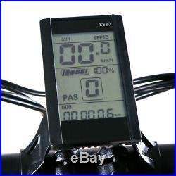 26 Folding Electric Mountain Bike Bicycle E Bike 48V 350W Brushless 21 Speed US