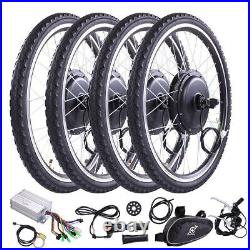 26'' Front Wheel 500W Electric Bicycle Conversion Kit Ebike Hub Motor Cycling