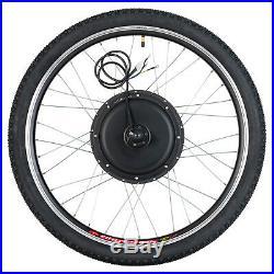 26'' Rear Wheel 48V 1000W Electric Bicycle E-bike Conversion Kit Cycling Motor
