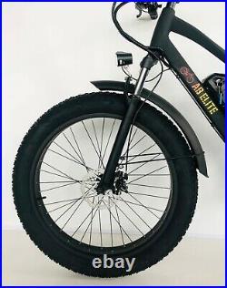 26 TRUE 1000W Electric E Bike Fat Tire Snow Mountain Bicycle Li-Battery
