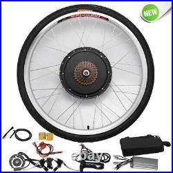 261000W 48V Electric E-bike Bicycle Conversion Rear Wheel Cycling Hub Motor Kit