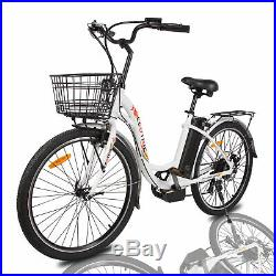 2636V10AH 350W Litium ION Electric Bicycle e-Bike LED 7 speed Removable Battery