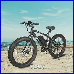 26500W 36V12Ah FatTire Mountain Beach Electric Bicycle Bike e-Bike eBike LCD
