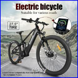 27.5inch Electric Bicycle Bafang 48V 750W Mid Drive Motor 12.8Ah Battery Ebike