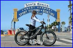 28MPH FAT TIRE 750w THUNDER Ebike 17ah Extended Range Battery Cyber Monday Deal