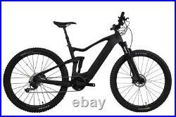 29er Carbon Ebike Full Suspension Mountain Bike Bafang 500W Electric Bicycle 18