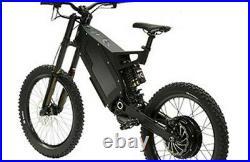 3000w 5000w 8000w Stealth Bomber electric e bike mountain bicycle
