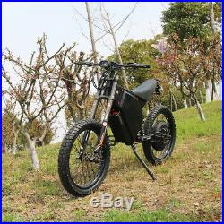 3000with72v Electric Bicycle Scooter Ebike Mountain Bike Super Fast 75km/h
