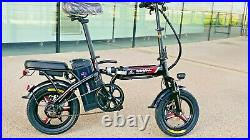 350W EBIKE FOLDING Lithium E ELECTRIC BICYCLE ADULT SIZE UNIQUE DESIGN