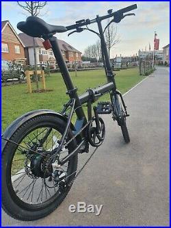350W FAST EBIKE light folding 20 electric bike