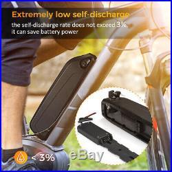 36V 10Ah 350W 500W Downtube Lithium Li-ion Battery Pack E-Bike Electric Bicycle