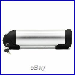 36V 10Ah Silver Bottle Lithium Battery E-bike Electric Bicycle 350W Aluminium US