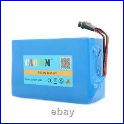 36V 16Ah Lithium li-ion Battery Pack 750W ebike Bicycle E Bike Electric &Charger