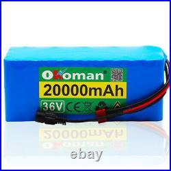 36V 20Ah Lithium li-ion Battery Pack 1000W ebike Bicycle E Bike Electric charger